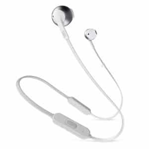 JBL TUNE 205BT Earbuds Wireless Headphones Silver