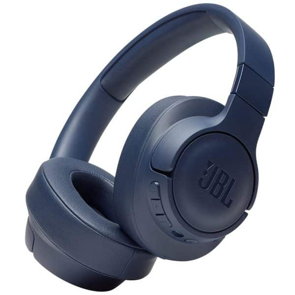 JBL TUNE 750BTNC Wireless Over-Ear Active Noise-Cancelling Headphone Blue