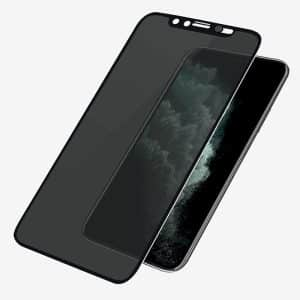 PanzerGlass CamSlider Dual Privacy Screen Protector for iPhone Xs Max/11 Pro Max Black