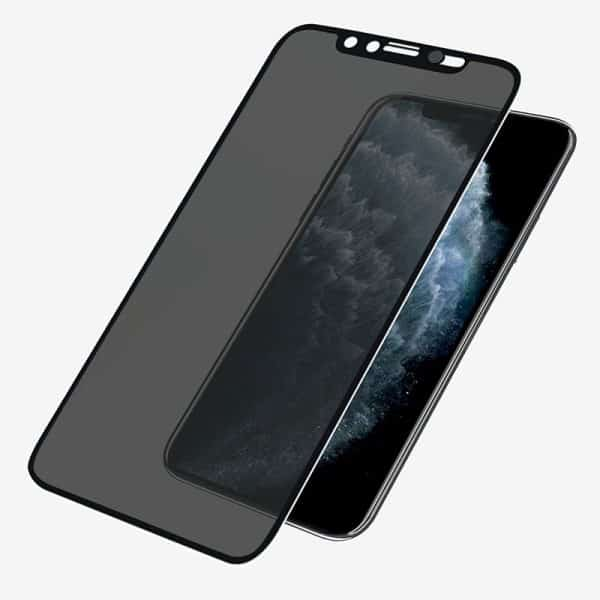 PanzerGlass Case Friendly CamSlider Dual Privacy Screen Protector for iPhone X,Xs & 11 Pro Black