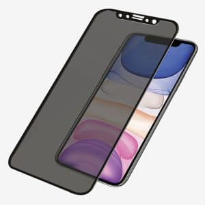 PanzerGlass™ Case Friendly Privacy Screen Protector for iPhone XR/11 - Black