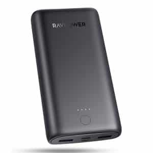 RAVPower Prime 20000mAh 15W 3-Port Power Bank RP-PB207 Black