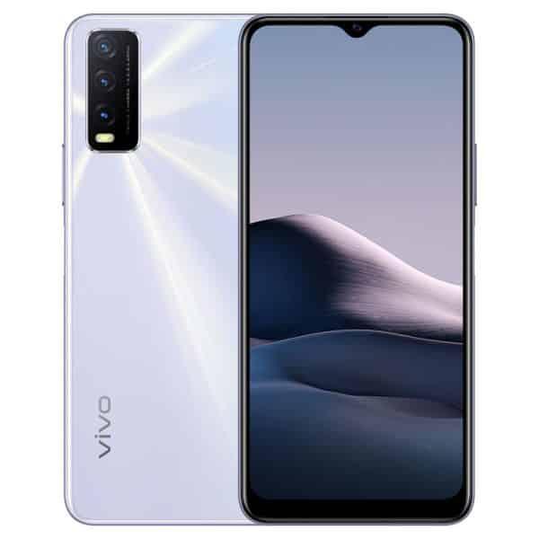VIVO Y20 Smartphone, Dual SIM, 4GB/64GB - Dawn White