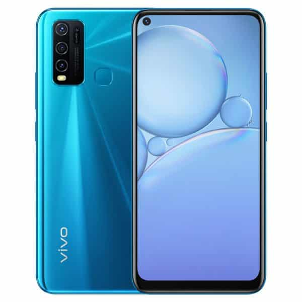 VIVO Y30 Smartphone Dual SIM 4GB/128GB 6.47-inch Dazzle Blue