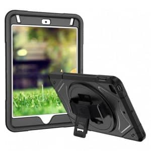 Armor-X ENX Shockproof Rugged Case for iPad Mini 5 7.9-Inches Black