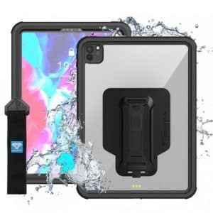 Armor-X MXS Waterproof Rugged Case for iPad Pro 12.9-Inches 2020 Black