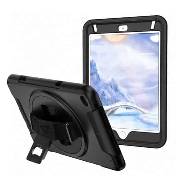 Armor-X RIN Rainproof Rugged Case for iPad Mini 4 & 5 7.9-Inches Black
