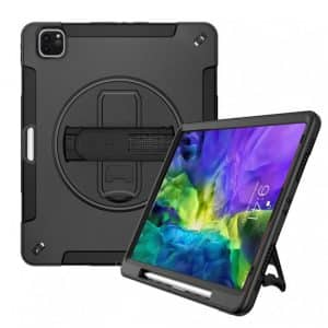 Armor-X RIN Rainproof Rugged Case for iPad Pro 11-Inches 2020 Black