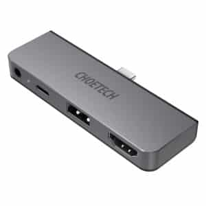 CHOETECH 4-in-1 USB-C to HDMI Multiport Adapter HUB-M13 Gray