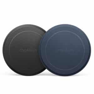 CHOETECH Magnetic Metal Plate PC0093 2-Pack Black/Blue