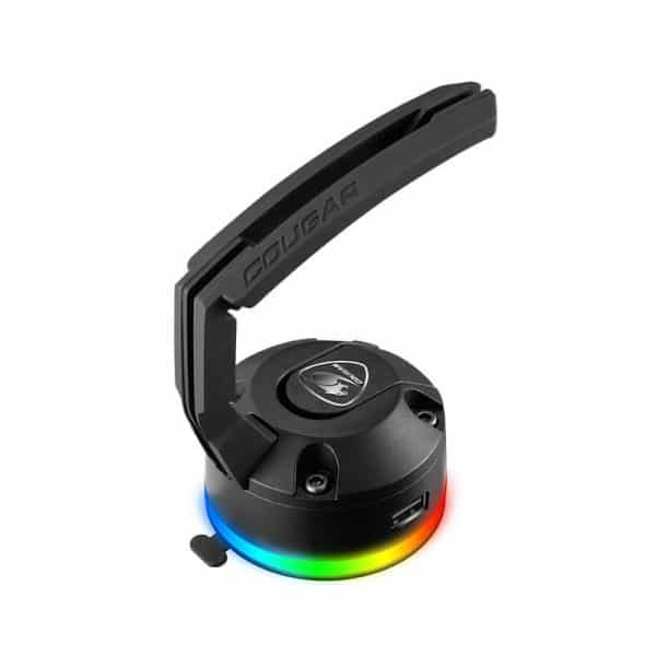 COUGAR Bunker RGB Mouse Bungee with USB Hub Black