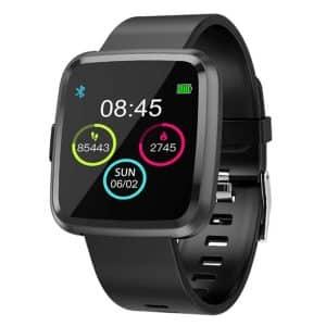 CTRONIQ Bond IX Smart Band Fitness Tracker Black