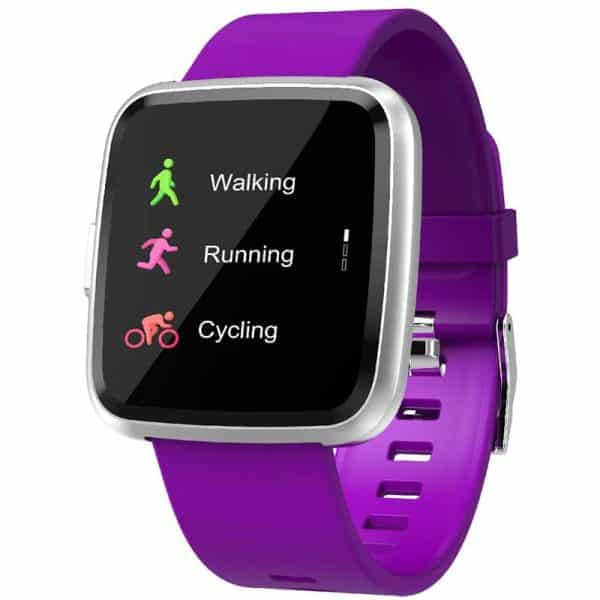 CTRONIQ Bond IX Smart Band Fitness Tracker Purple