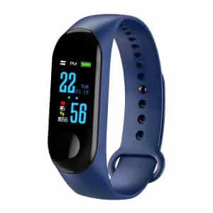 CTRONIQ Bond X Smart Band Fitness Tracker Blue