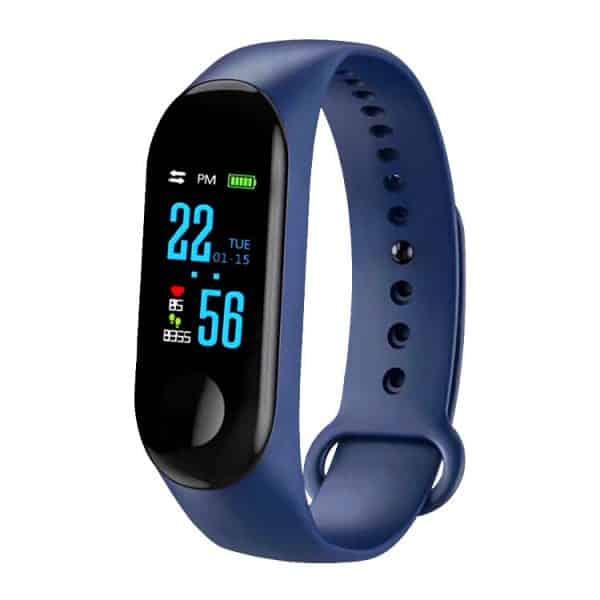 CTRONIQ Bond X Smart Band Fitness Tracker Blue
