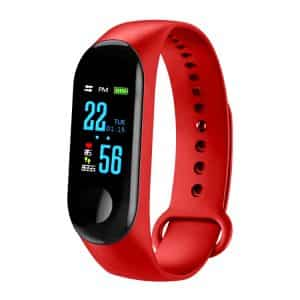 CTRONIQ Bond X Smart Band Fitness Tracker Red