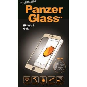 PanzerGlass Premium Screen Protector for iPhone 7 Gold