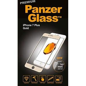 PanzerGlass Premium Screen Protector for iPhone 7 Plus Gold