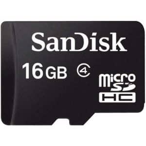SanDisk MicroSDHC Flash Memory Card 16GB