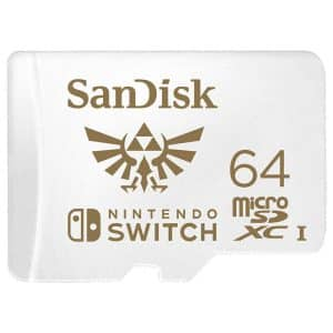 SanDisk Nintendo Licensed MicroSDXC Memory Card for Nintendo Switch 64GB