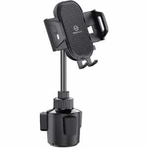 WixGear Car Cup Holder Phone Mount Adjustable Automobile Cup Holder Smart Phone Cradle Car Cup Mount