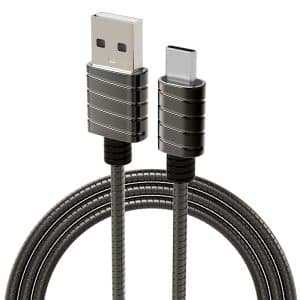 iWALK Metallic Type-C Charging Cable 1-Meter - Gray