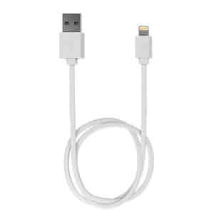 iWALK Trione Tangle Free USB to Lightning Charge and Sync Cable 1M White