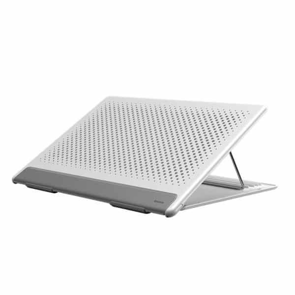 Baseus Let's Go Mesh Portable Laptop Stand SUDD-2G - White/Gray