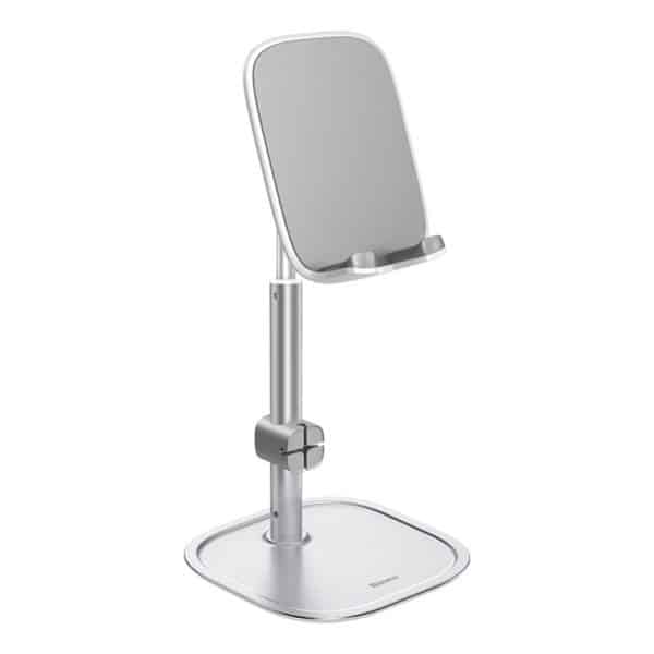 Baseus Literary Youth Desktop Bracket Telescopic Silver