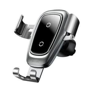 Baseus Metal Wireless Charger Gravity Car Mount WXYL-B0S Silver