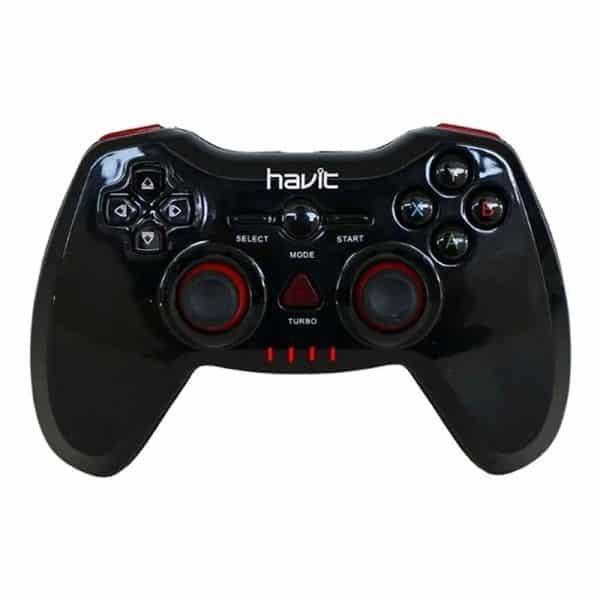 HAVIT HV-G103 OTG Wired Game Controller - Black/Red