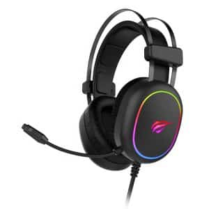 HAVIT HV-H2016D RGB Wired Gaming Headset with Stereo Surround Sound and HD Mic Black