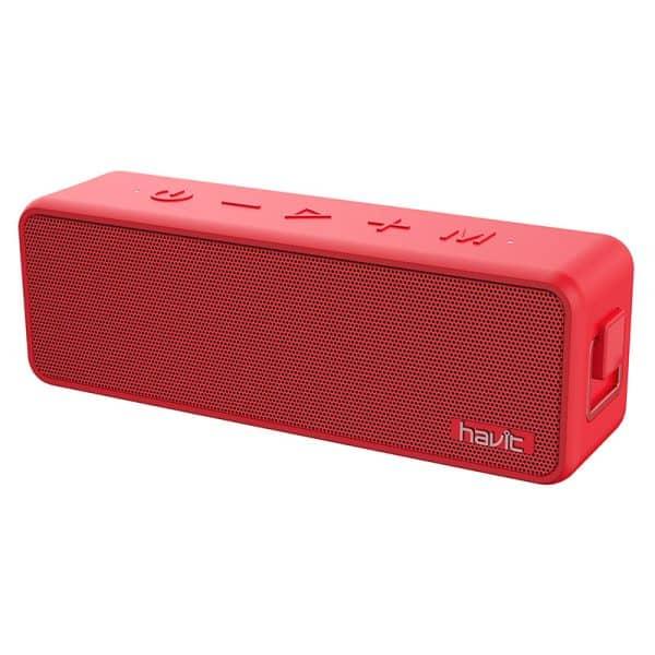 HAVIT HV-M76 Multi-Function Waterproof Wireless Speaker Red