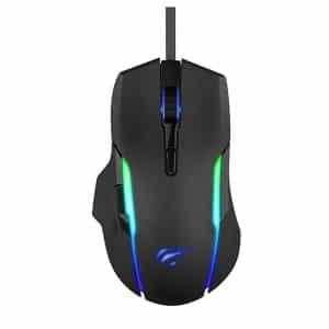 HAVIT HV-MS1012A RGB Backlit Programmable Gaming Mouse Black