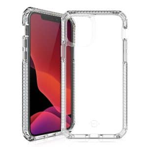 ITSkins Spectrum Clear Antimicrobial Case for iPhone 12 Pro Max 6.7-Inch Transparent