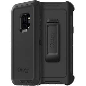 OtterBox Defender Series Screenless Edition Case for Samsung Galaxy S9 Black