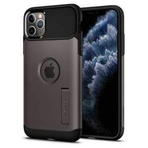 Spigen Slim Armor Case for iPhone 11 Pro Max Gunmetal
