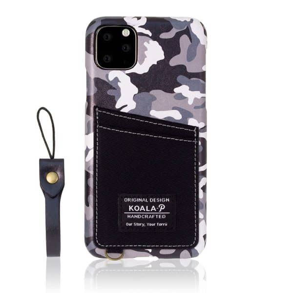 Torrii Koala-P Printed Case for iPhone 11 Pro Max 6.5-inch - Black