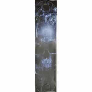 Anti-Skid Sticker Foot Mat With Cartoon for Xiaomi Electric Scooter - Smoke Skull