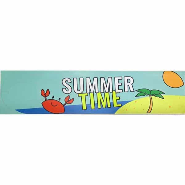 Anti-Skid Sticker Foot Mat With Cartoon for Xiaomi Electric Scooter - Summer Time Beach