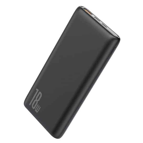 Baseus Bipow Quick Charge Power Bank PD3.0 & QC3.0 10000mAh 18W PPDML-01 Black