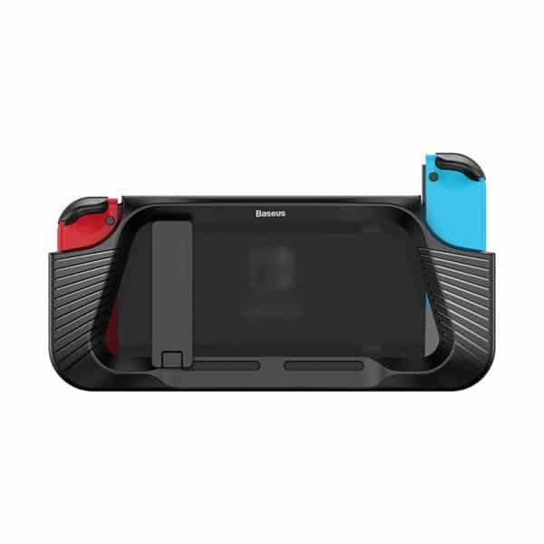 Baseus GS02 Shock Resistant Bracket Protective Case for Nintendo Switch Black