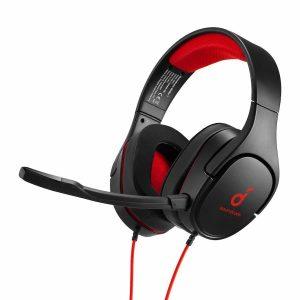 Anker Soundcore Strike 1 Gaming Headset - Black/Red