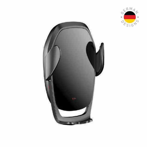 Smart Freedom Plus Premium Fast Wireless Car Charger 15W Black