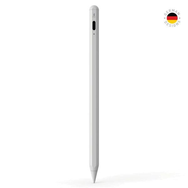Smart Premium Pencil For iPad White