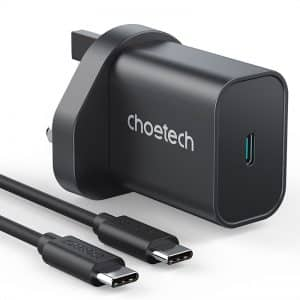 CHOETECH PD6003 PD 25W PPS USB-C Charger Black