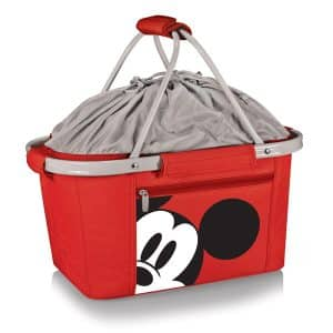 Disney Classics Mickey Mouse Metro Basket Collapsible Red