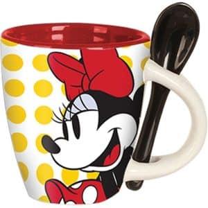 Disney Minnie Classic Dots Espresso Cup with Spoon