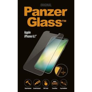 PanzerGlass Screen Protector for iPhone 6.1-Inch Flat Screen Clear