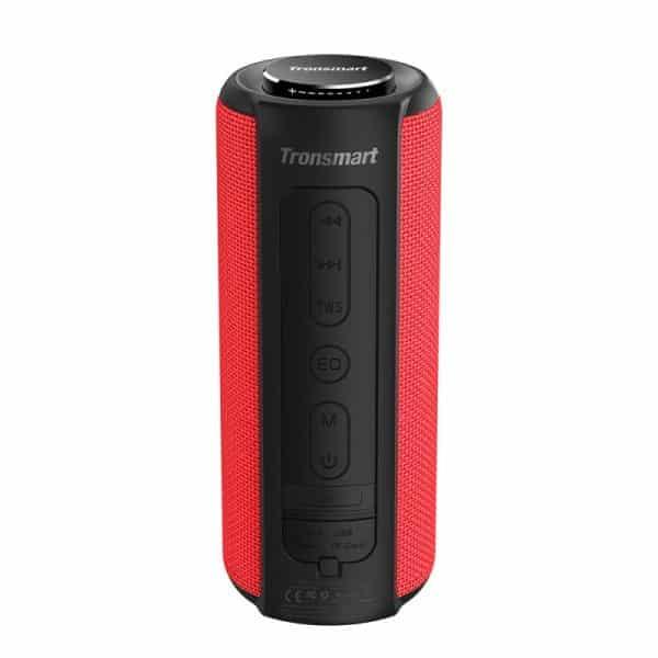 Tronsmart Element T6 Plus SoundPulse Portable Bluetooth Speaker Red